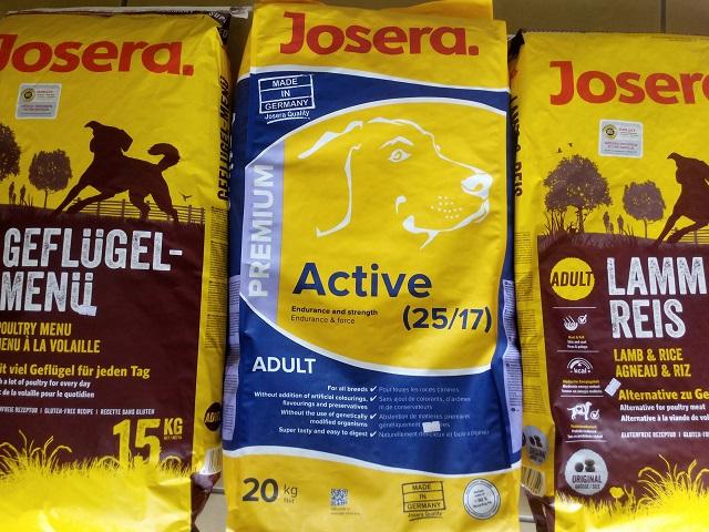 Οι καλύτερτες και οικονομικότερες τροφές Pet josera στο κατάστημά μας